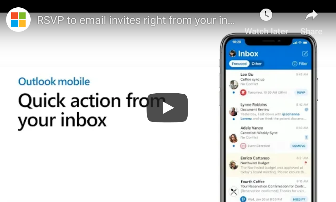 Outlook Mobile Tech Tip